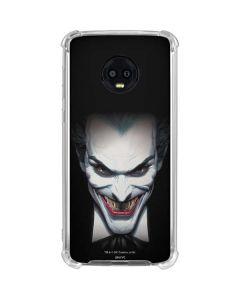 Joker by Alex Ross Moto G6 Clear Case