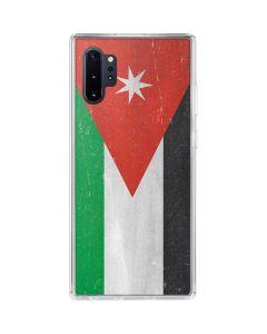 Jordan Flag Distressed Galaxy Note 10 Plus Clear Case
