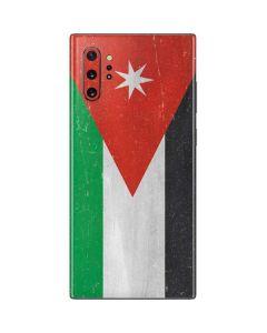 Jordan Flag Distressed Galaxy Note 10 Plus Skin