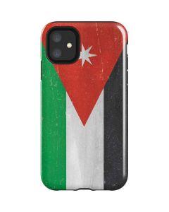 Jordan Flag Distressed iPhone 11 Impact Case