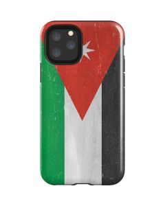 Jordan Flag Distressed iPhone 11 Pro Impact Case
