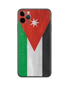 Jordan Flag Distressed iPhone 11 Pro Max Skin