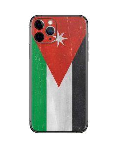 Jordan Flag Distressed iPhone 11 Pro Skin