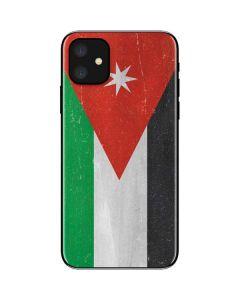 Jordan Flag Distressed iPhone 11 Skin