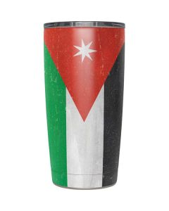 Jordan Flag Distressed Yeti 20oz Tumbler Skin