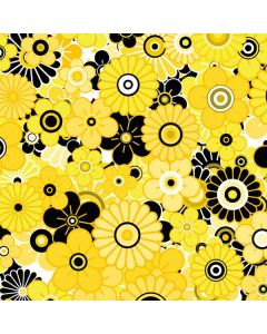 Yellow Flowerbed Apple TV Skin