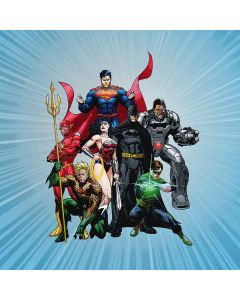 Justice League New 52 PS4 Console Skin