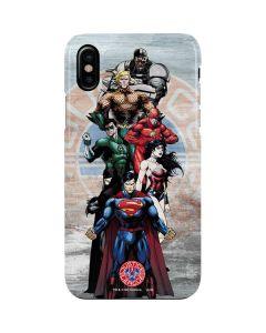 Justice League Heros iPhone XS Max Lite Case