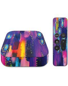 Kaleidoscope Brush Stroke Apple TV Skin