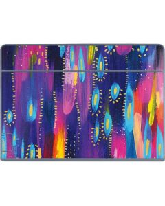 Kaleidoscope Brush Stroke Galaxy Book Keyboard Folio 12in Skin