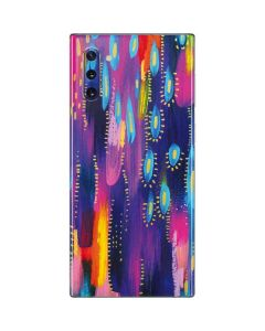 Kaleidoscope Brush Stroke Galaxy Note 10 Skin