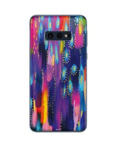 Kaleidoscope Brush Stroke Galaxy S10e Skin
