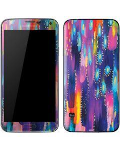 Kaleidoscope Brush Stroke Galaxy S5 Skin