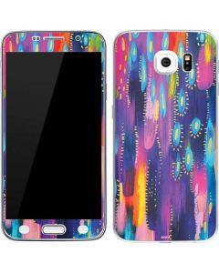 Kaleidoscope Brush Stroke Galaxy S6 Skin