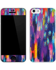 Kaleidoscope Brush Stroke iPhone 5c Skin