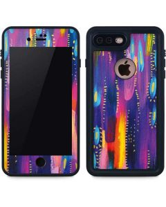 Kaleidoscope Brush Stroke iPhone 8 Plus Waterproof Case