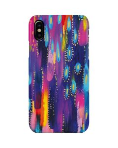Kaleidoscope Brush Stroke iPhone XS Max Lite Case