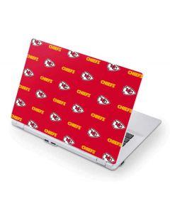 Kansas City Chiefs Blitz Series Acer Chromebook Skin