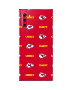Kansas City Chiefs Blitz Series Galaxy Note 10 Skin