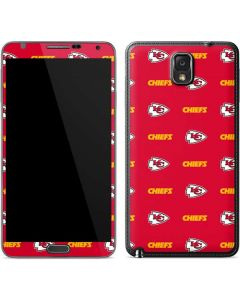 Kansas City Chiefs Blitz Series Galaxy Note 3 Skin