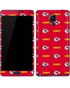 Kansas City Chiefs Blitz Series Galaxy Note 4 Skin