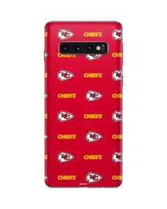 Kansas City Chiefs Blitz Series Galaxy S10 Skin