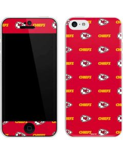 Kansas City Chiefs Blitz Series iPhone 5c Skin