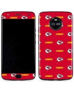 Kansas City Chiefs Blitz Series Moto X4 Skin