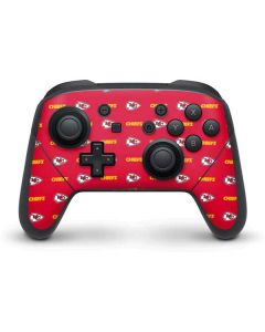 Kansas City Chiefs Blitz Series Nintendo Switch Pro Controller Skin