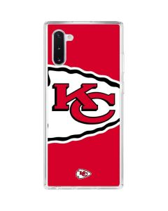 Kansas City Chiefs Large Logo Galaxy Note 10 Clear Case
