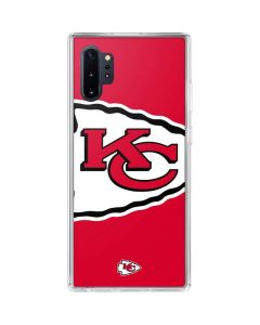 Kansas City Chiefs Large Logo Galaxy Note 10 Plus Clear Case