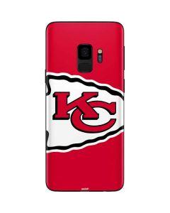Kansas City Chiefs Large Logo Galaxy S9 Skin