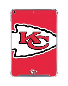 Kansas City Chiefs Large Logo iPad 10.2in (2019-20) Clear Case