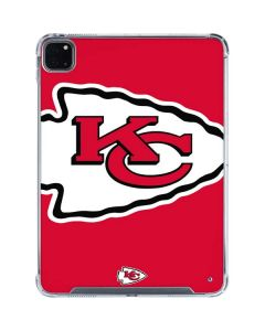 Kansas City Chiefs Large Logo iPad Pro 11in (2020) Clear Case