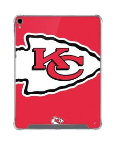 Kansas City Chiefs Large Logo iPad Pro 12.9in (2018-19) Clear Case