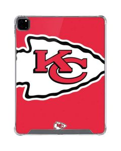 Kansas City Chiefs Large Logo iPad Pro 12.9in (2020) Clear Case