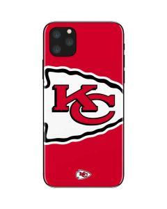 Kansas City Chiefs Large Logo iPhone 11 Pro Max Skin