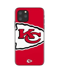 Kansas City Chiefs Large Logo iPhone 11 Pro Skin