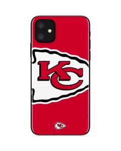 Kansas City Chiefs Large Logo iPhone 11 Skin