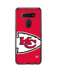 Kansas City Chiefs Large Logo LG K51/Q51 Clear Case