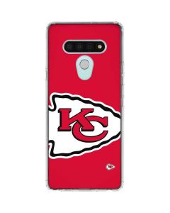 Kansas City Chiefs Large Logo LG Stylo 6 Clear Case