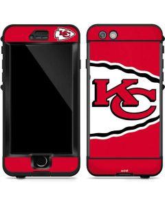 Kansas City Chiefs Large Logo LifeProof Nuud iPhone Skin