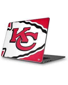 Kansas City Chiefs Large Logo Apple MacBook Pro 17-inch Skin