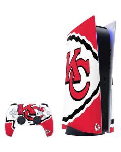 Kansas City Chiefs Large Logo PS5 Bundle Skin