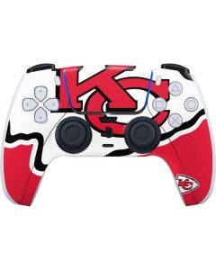 Kansas City Chiefs Large Logo PS5 Controller Skin