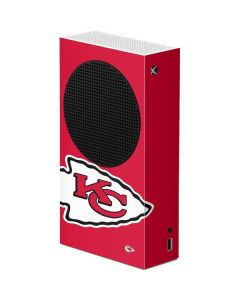 Kansas City Chiefs Large Logo Xbox Series S Console Skin