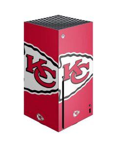Kansas City Chiefs Large Logo Xbox Series X Console Skin