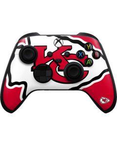 Kansas City Chiefs Large Logo Xbox Series X Controller Skin