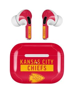 Kansas City Chiefs Red Performance Series Apple AirPods Pro Skin