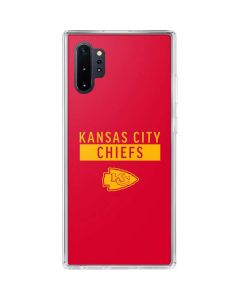 Kansas City Chiefs Red Performance Series Galaxy Note 10 Plus Clear Case